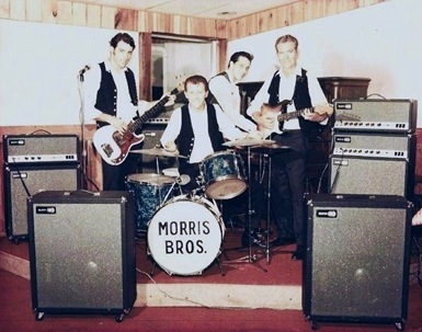 Uncle Mike, Uncle Shane, Dad - The Morris Bros Band