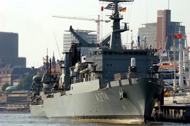 Δύο τα στρατιωτικά πλοία στην Κεφαλονιά