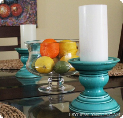 turquoise-dining-room-setting