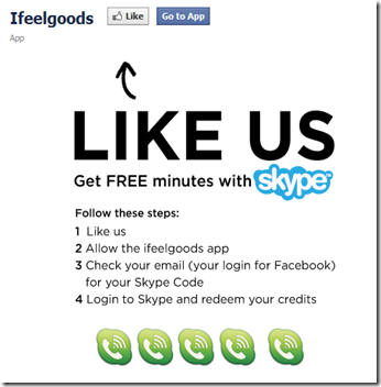 get free skype credit