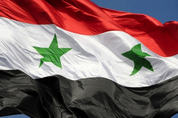 CC Photo Google Image Search Source is upload wikimedia org  Subject is The flag of Syrian Arab Republic Damascus Syria