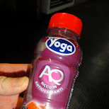 Yoga - great Italian yogurt drink in Pozzolengo, Brescia, Italy