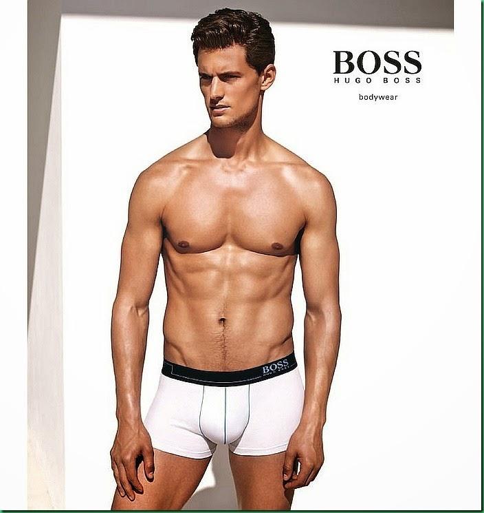 Campaign: Garrett Neff for Hugo Boss Bodywear 2015