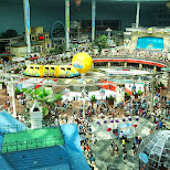 the biggest indoor theme park in the world in Seoul, Seoul Special City, South Korea