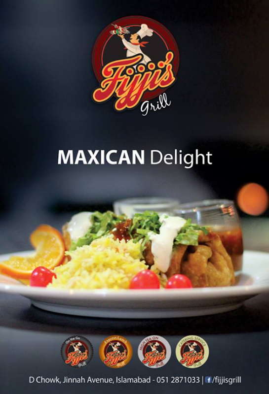 Fijji's Grill Cafe Islamabad