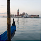 Venedig am Morgen in Pastell