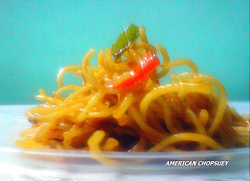 AMERICAN CHOPSUEY1