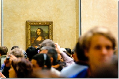 The Crowds at the Mona Lisa