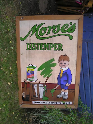 Morse&#39;s Distemper  now they will have to use it #2 w frame