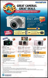 Olympus Malaysia Storewide Sale 2013 Branded Shopping Save Money EverydayOnSales