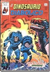 P00003 - Dinosaurio Diabolico v1 #