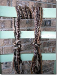 brown necklace scarf
