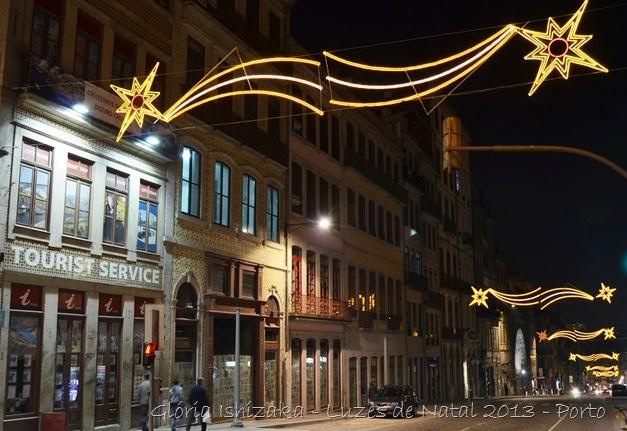 Glória Ishizaka - Luzes de Natal 2013 - Porto  12 Rua Mouzinho da Silveira