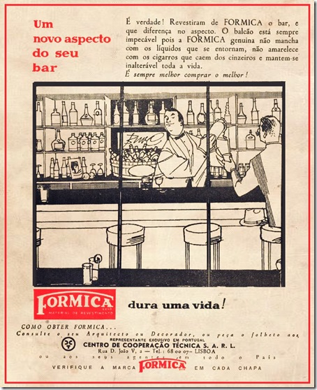 formica pub anos 50