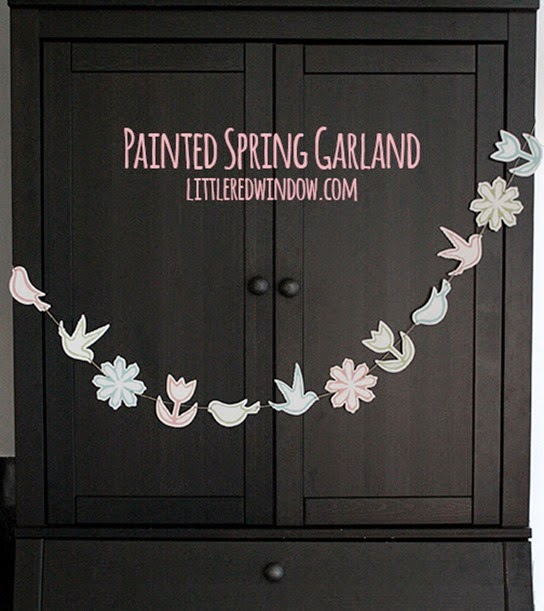 spring garland