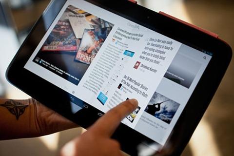 Flipboard lanza versión compatible con tabletas Android