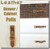 drawer pulls from a womens bag