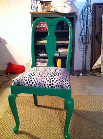 """Lucky Green"" desk chair"
