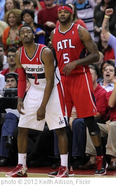 'John Wall, Josh Smith' photo (c) 2012, Keith Allison - license: http://creativecommons.org/licenses/by-sa/2.0/