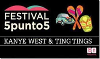 festival 5 punto 5 mexico 2012 boletos