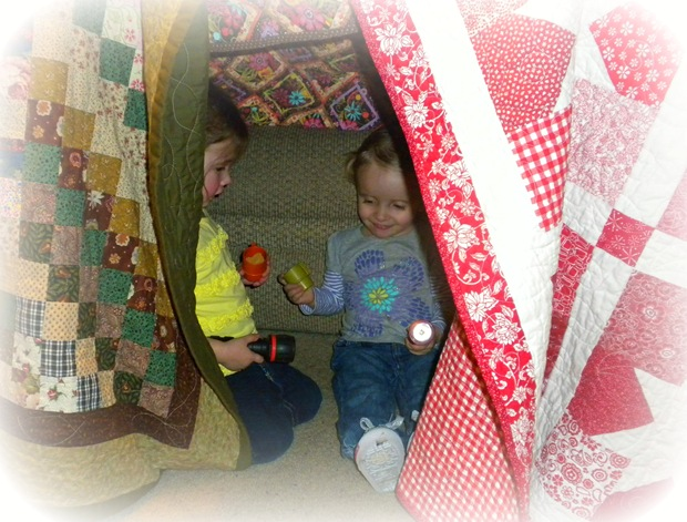 quilt tent