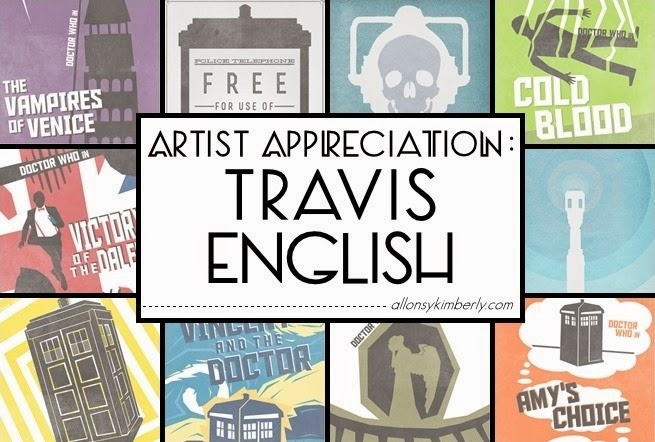 Artist Appreciation: Travis English | allonsykimberly.com