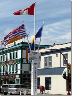 Mile 0 Post Dawson Creek BC