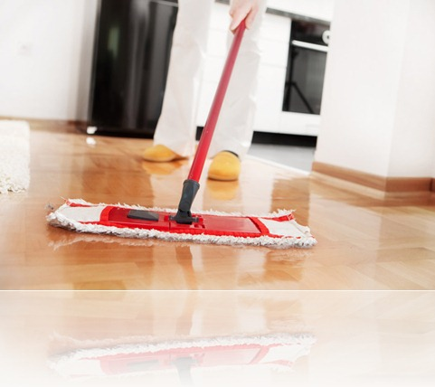 Clean your home with a few tricks