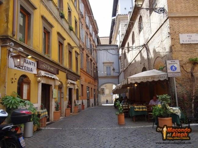 Visita Trastevere Roma 5