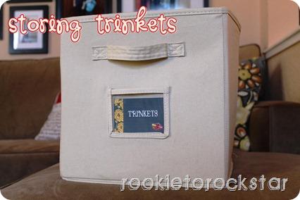 Storing Trinkets