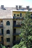 An apartment building near the Buda castle