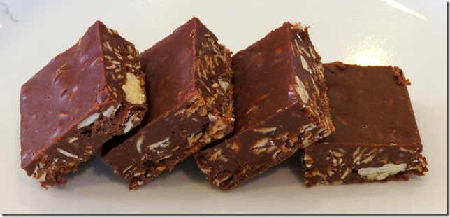 Almond Joy Oat Fudge Bars