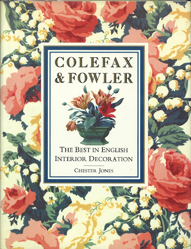 Published by Bulfinch Press in  1989, Colefax and Fowler is a gorgeous pictorial of the company's work.