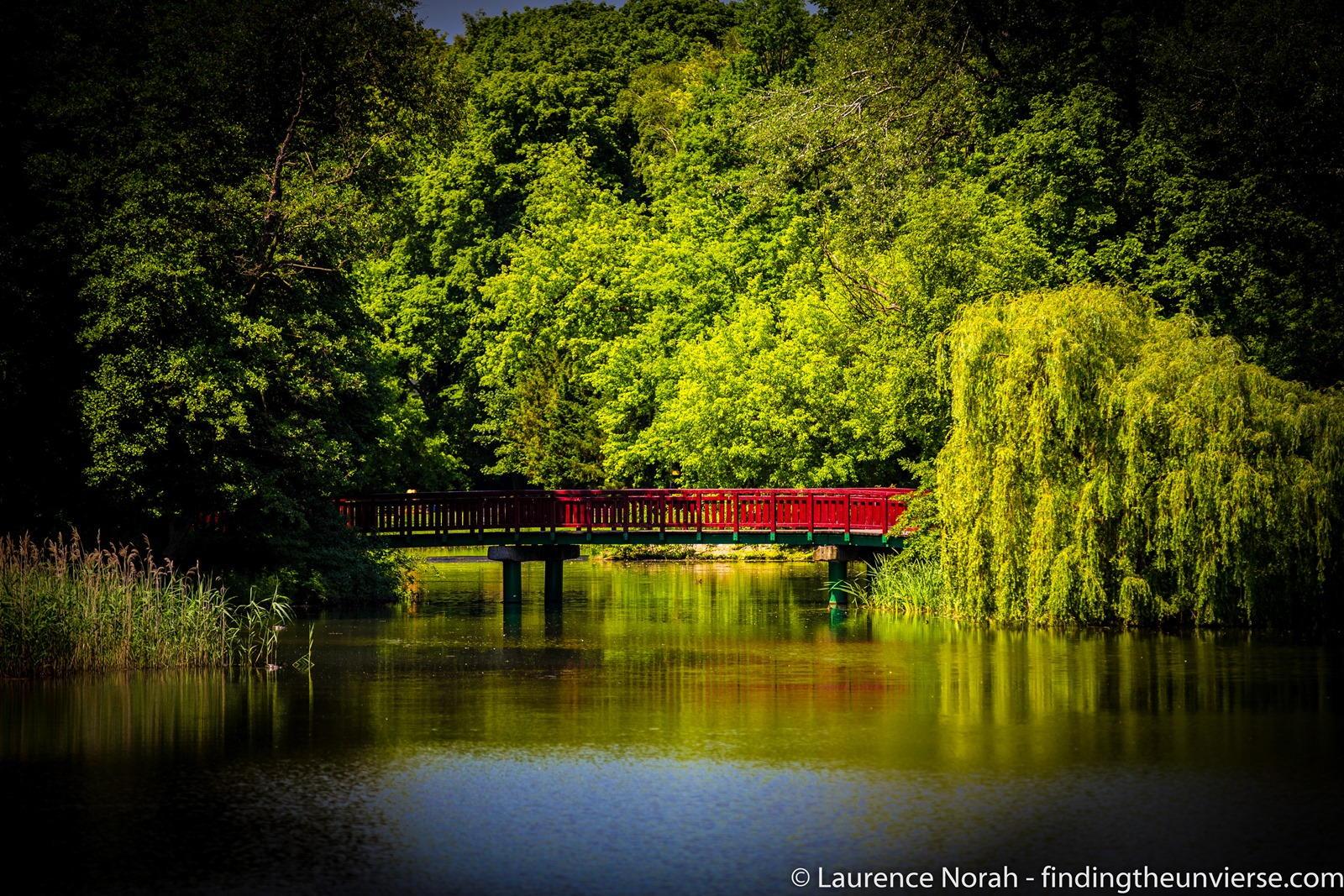 Ponte sul lago Poznan PARK2