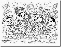 Carnaval_Turma_da_Monica_desenhos_imprimir_colorir_pintar (2)