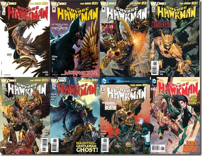 SavageHawkman-Vol.1-Content