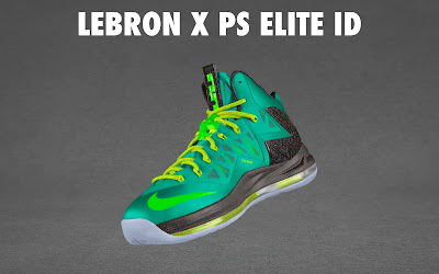 nike lebron 10 ps elite id options preview 1 05 NIKE LEBRON X PS ELITE Coming to Nike iD on April 23rd