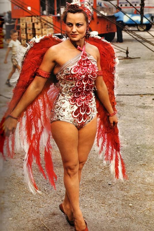 circus showgirl  1950