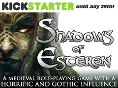 Shadows of Esteren on Kickstarter until July 29th