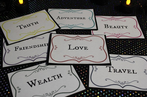 fortune telling game for kids - free printable fortune cards
