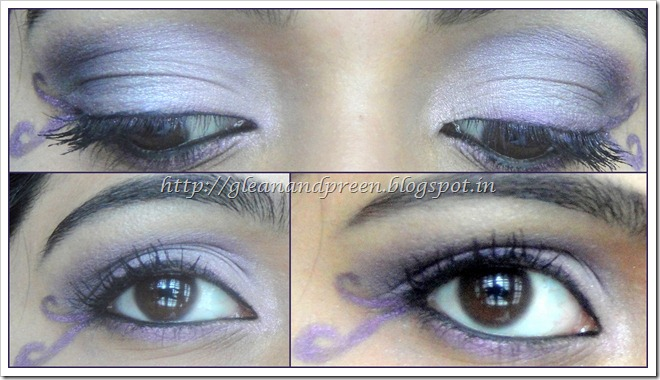 Birthstone Looks – Amethyst Eye Makeup