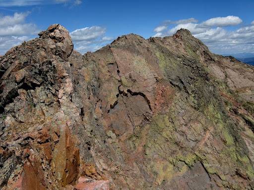 The south face of North Traverse Pk.