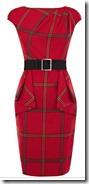 Karen Millen Check Print Dress