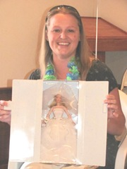 Beckys shower gift Barbie bride doll