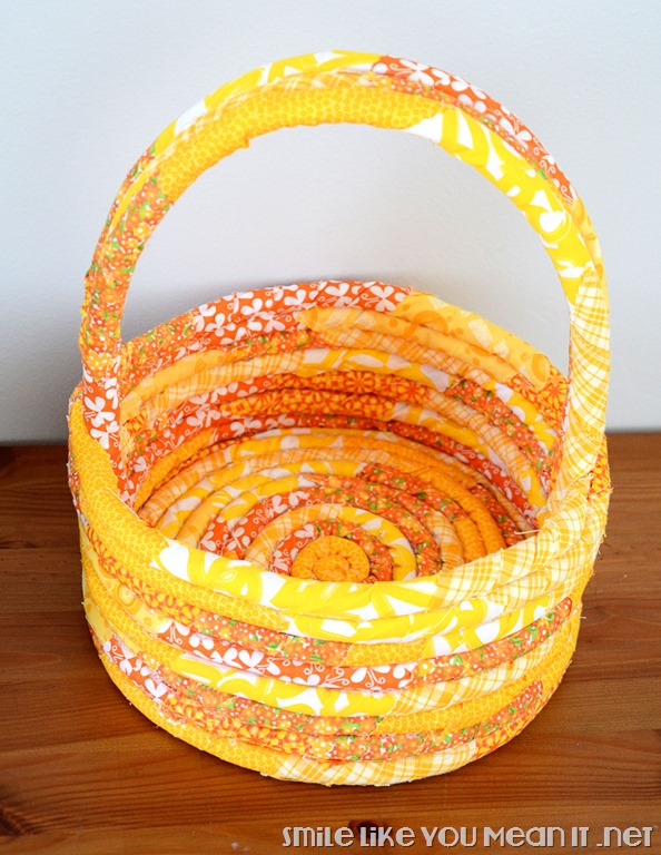 Yellow-Fabric-Easter-Basket