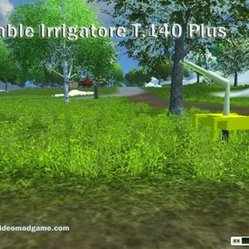Farming simulator 2013 – Placeable Irrigatore T.140 Plus Beta