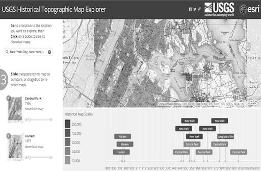 USGS Harita Gezgini
