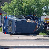Vehicle Roll-over, Florin at East Parkway