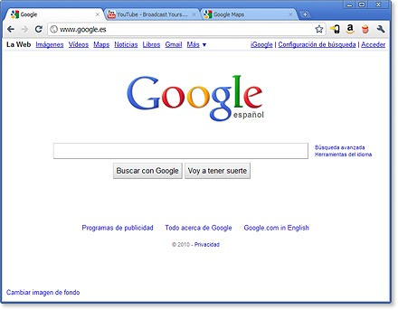 Descargar Google Chrome Canary 16 gratis