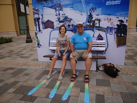 Dana Stoia in Dubai Ski